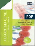 Buku Algoritma Genetika, Yandra 2012