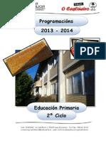 CEIP O CASTIÑEIRO - PROGRAMACIÓN 2º CICLO - 2013-14
