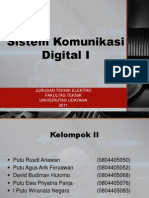 Sistem Komunikasi Digital-I