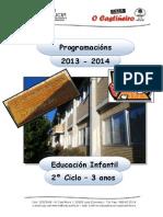 CEIP O CASTIÑEIRO - PROGRAMACIÓN  E. INFANTIL-  03 anos - 2013-14