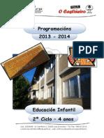 CEIP O CASTIÑEIRO - PROGRAMACIÓN  E. INFANTIL -  04 anos - 2013-14