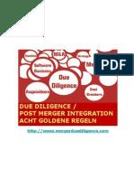 Acht Regeln fuer Due Diligence und Merger Integration