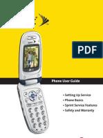 LG LX-350 User Guide