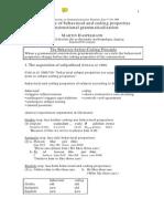 Behaviour-Before-Coding Principle in Constructional Grammaticalization