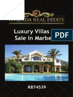 Luxury Villa for Sale in Marbella | R874539 | Vivienda Real Estate