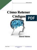 Como recordar Codigos y Contraseñas.David Valois