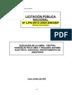 Proy. C.H.ohmia Amazonas - Anexos