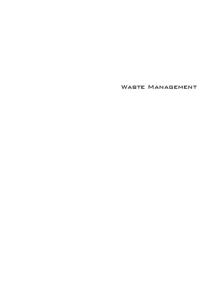 Wastemanagementpdf sustainability recycling fandeluxe Images