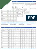European Bitumen Consumption 2012