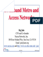 Metro Broadband Tutorial