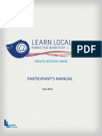 ACFE n1876204 v1 Learn Local Communications and Marketing Training Manual - FINAL