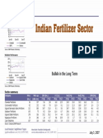Enam Securities - Indian Fertilzer Sector
