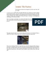 Ceramic Tile Factory.doc