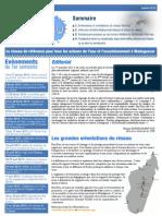 RAN'EAU - Bulletin d'Infromation Biannuel – Numéro 02 (juillet 2012)