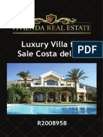 Luxury Villa for Sale Costa Del Sol | R2008958 | Vivienda Real Estate