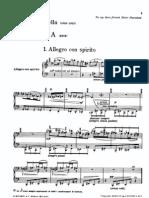 Casella - Sonatina (Piano)