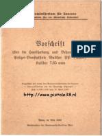 Walther Ppk Manual 1955 Austrian