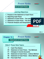 15 Statement of Cash Flows