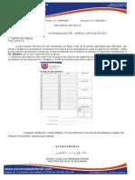 Circular No. 13 Formato de Evaluacion