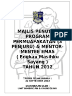 Kertas Kerja Majlis Penutup 2012