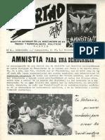 LIBERTAD. Boletín Interior de la Asociación de Expresos y Represaliados Políticos
