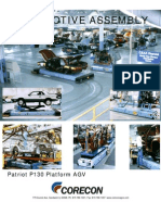 Platform AGV with Scissors lift for Assembly lines