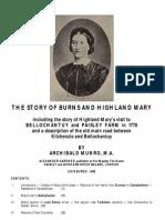 Burns' Highland Mary at Bellochantuy - Archibald Munro - 1886