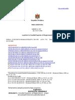 Cu Privire La Consiliul Superior Al Magistraturii
