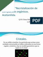 práct 4 cristalización