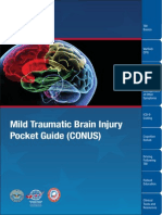 PSY TBI Mild Traumatic Brain Injury Pocket Guide
