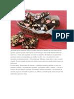 Postre de Chocolate y Bombom