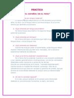 el español en el peru_cuestionario tofy