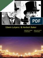 ppt on Edwin Lutyens and Herbert Baker