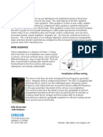 Benefits of InFloor Wire Guidance for AGV systems