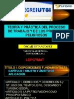 Proceso de Trabajo y PP Betancourt