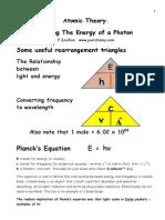 Energy of Foton