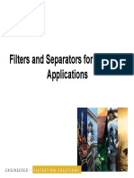 Filters and Separators for Oil & Gas Filters and Separators for Oil & Gas Applications