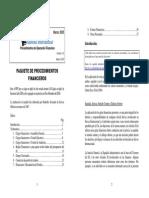 Paquete de Procedimientos Financieros Servas Internacional - Mar 2005