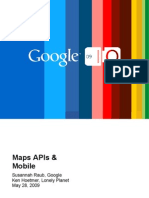 Maps APIs & Mobile