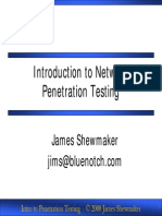 SANS Institute-Introduction to Network Penetration Testing