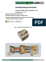 Surge Protector - Installation Instruction Type-PI 1_1-GS (http://shop.acdc-dcac.eu/)