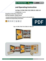 Surge Protector - Installation Instruction Type PI 3_3 MCB GS (http://shop.acdc-dcac.eu/)
