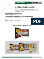 Surge Protector - Installation Instruction Type PI 3_3 M GS (http://shop.acdc-dcac.eu/)