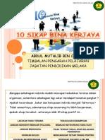 10 Sikap Bina Kerjaya