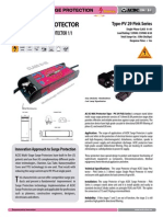 Surge Protector - Datasheet Type - PV 29 Pink Series (http://shop.acdc-dcac.eu/)