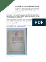 LA DESAPARICIÓN DEL RECRE EN 1931