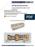 Surge Protector - Installation Instruction Type-PI 3_3-BS (http://shop.acdc-dcac.eu/)