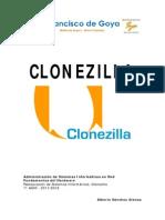 Práctica - Restauración (Clonezilla)