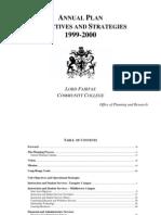 Plan Anual SACs 1999-2000
