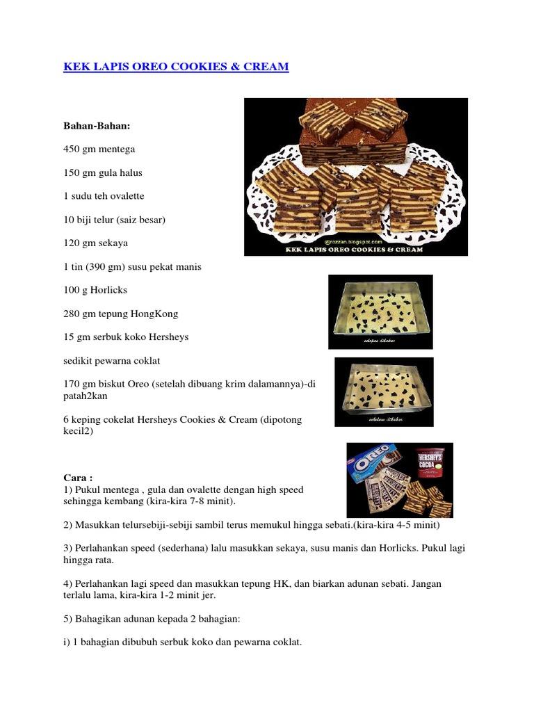 Kek Lapis Dan Puding 2